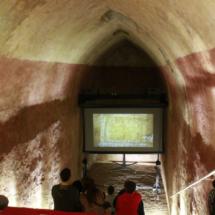 Sala audiovisual de los aljibes de Teruel