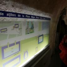 Información de los aljibes medievales de Teruel