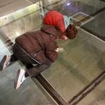 A los niños les gusta visitar los aljibes subterráneos de Teruel