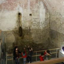 Visitamos los aljibes de Teruel en familia