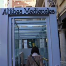 Acceso de las visitas a los aljibes medievales de Teruel