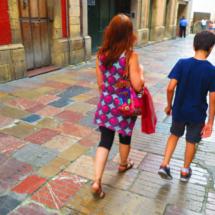 Visitamos Avilés con los niños
