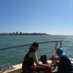 Viaje en barco por la bahía de Cádiz