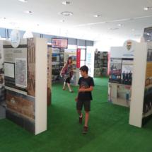 Exposición sobre fútbol en el Centro Niemeyer de Avilés
