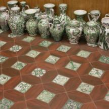 Piezas de cerámica de Teruel