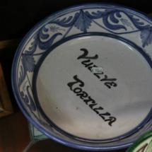 Vuelcatortillas de cerámica de Teruel