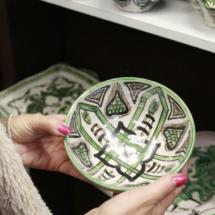 Cuenco de cerámica de Teruel