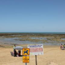 Corrales de pesca en Chipiona, costa de Cádiz