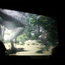 Una de las áreas de Dinópolis ofrece cine en 3D