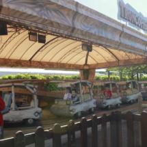 El 'Viaje en el Tiempo' es una de las atracciones de Dinópolis