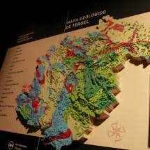 Reproducción del área arqueológica de Dinópolis