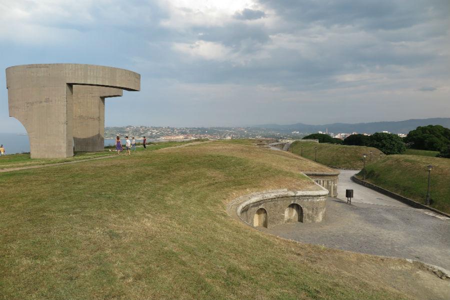 Parque del Cerro de Santa Catalina, en Gijón