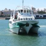 Procura llegar al barco con antelación, no sea que se escape y se fastidie la excursión...