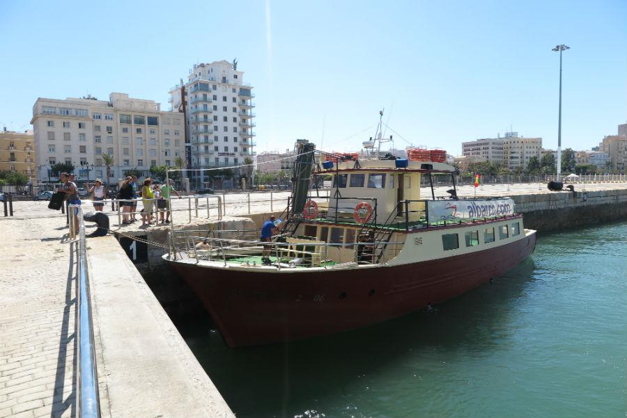 Protector solar y agua para beber son necesarias; ten en cuenta que en el mar no hay sombra ;)