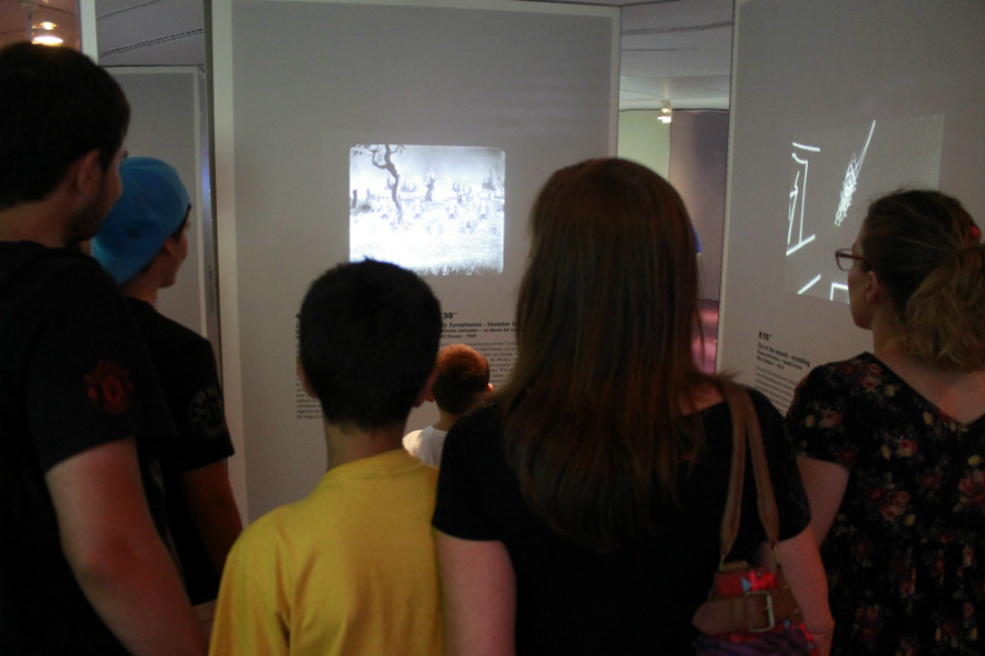 Exposición para niños en Madrid Watch me move.