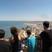Vistas desde lo alto del Faro de Chipiona