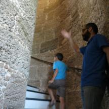 Subida al Faro de Chipiona