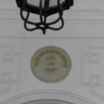 Placa conmemorativa del Faro de Chipiona
