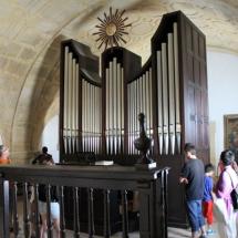 Órgano de la iglesia de Santa Catalina, en Conil de la Frontera