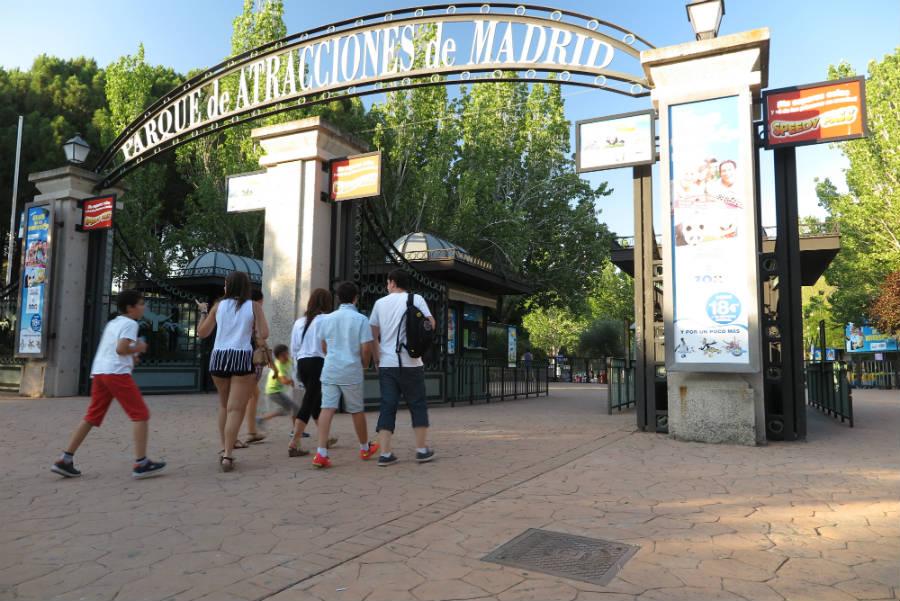 Un día en el Parque de Atracciones de Madrid