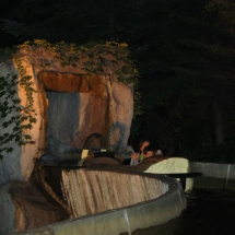 Atracción de agua del Parque de Atracciones de Madrid