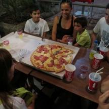 Cena familiar en el Parque de Atracciones de Madrid