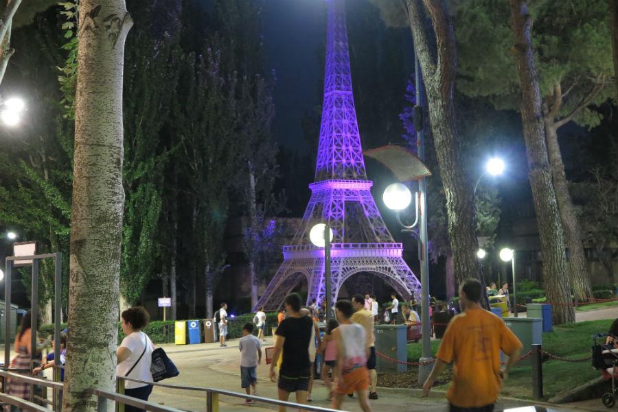 Escenario del Parque de Atracciones de Madrid