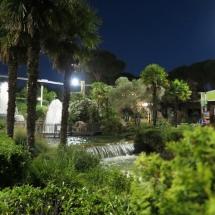 Jardín del Parque de Atracciones de Madrid