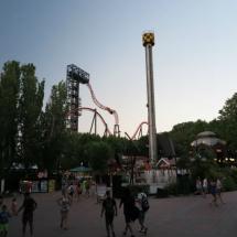 Vista del Parque de Atracciones de Madrid