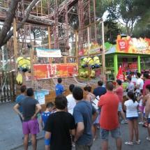 Juegos recreativos del Parque de Atracciones de Madrid