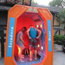 Secador del Parque de Atracciones de Madrid