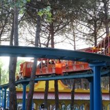 Trenecito del Parque de Atracciones de Madrid