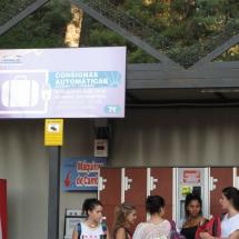 En el Parque de Atracciones de Madrid hay consignas