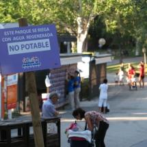El Parque de Atracciones de Madrid se riega con agua no potable