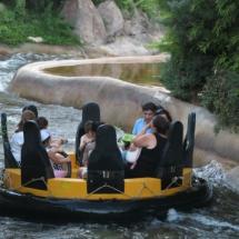 Atracción de agua del Parque de Atracciones