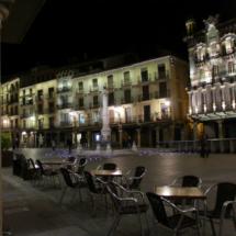 La Plaza del Torico de Teruel es un lugar muy agradable para tomar algo en una terraza
