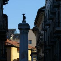La Plaza del Torico es el centro neurálgico de Teruel
