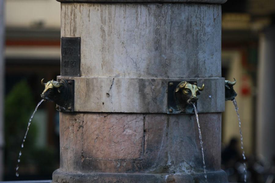 La columna del Torico de Teruel es una fuente