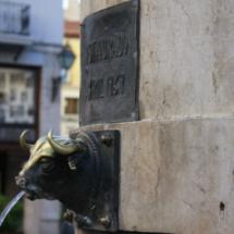 La fuente del Torico rememora la canalización de las aguas en Teruel