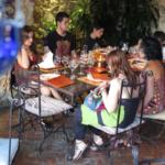 Así es el restaurante El Jardín del Califa, en Vejer de la Frontera