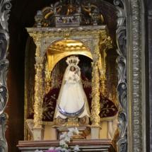 Imagen de la iglesia de Santa Catalina, en Conil de la Frontera