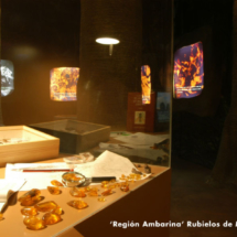 La Región Ambarina, de Dinópolis, en Rubielos de Mora (Teruel) alberga insectos en ámbar como los de Jurrassic Park