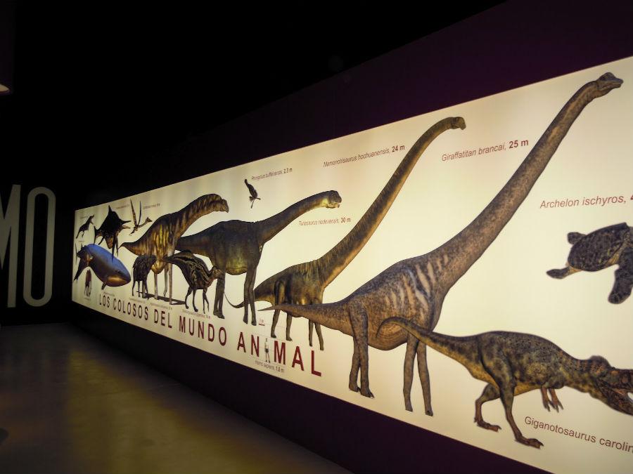 Titania, en Riodeva (Teruel), está dedicado a dinosaurios gigantes