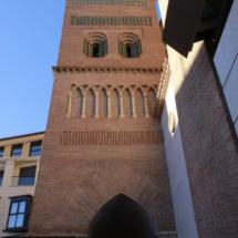 Torre mudéjar de la iglesia de San Pedro