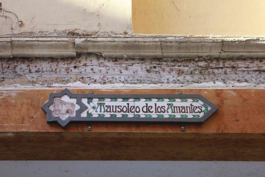 El mausoleo de los amantes de Teruel está en la iglesia de San Pedro