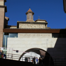 El mausoleo de los amantes de Teruel está en un entorno mudéjar