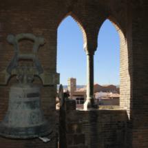 Campanario de la Torre del Salvador, en Teruel