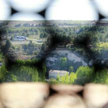 Vistas desde la Torre del Salvador, en Teruel