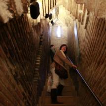 Subida a la Torre del Salvador, en Teruel