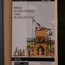 Horarios de visita a la Torre mudéjar del Salvador, en Teruel